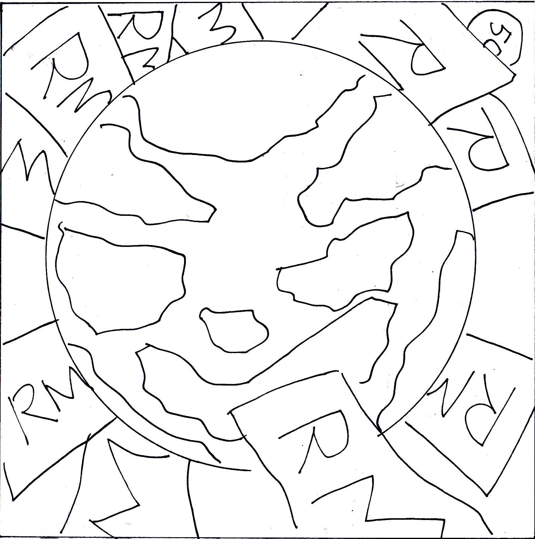 Water pollution drawing coloring pages for Water pollution coloring pages